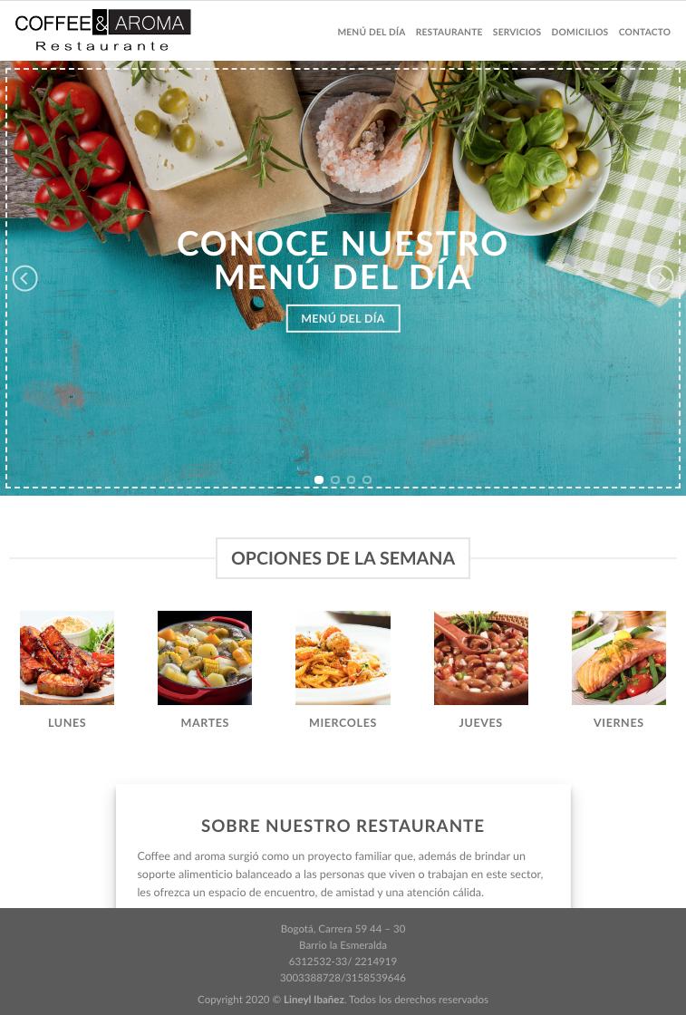 Restaurante cafe & aroma